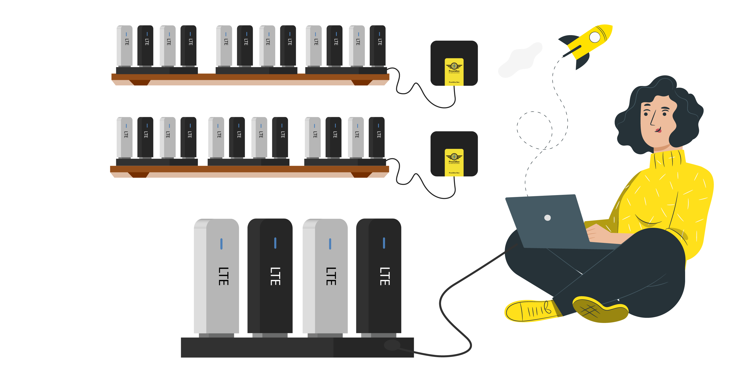 How Proxidize is easy to scale and build a large 4G farm